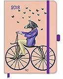 Fab Funky 2018 - Buchkalender Illustrierter Kalender, Buchkalender  -  16 x 22 cm