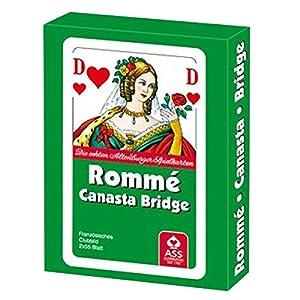 """Philos 6683""""Rummy Card Set con Caja de Tarjeta"""
