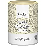 Xucker Weiße Schokolade – White Chocolate-Drops, 1er Pack (1 x 200 g)
