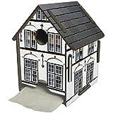 Werkaus - Toilettenpapierhaus weisses Haus Toilettenpapierhalter (PP5109)