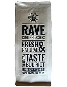 Rave Coffee - The Italian Job Blend - Fresh Roasted Coffee Beans - 250g - Whole Bean