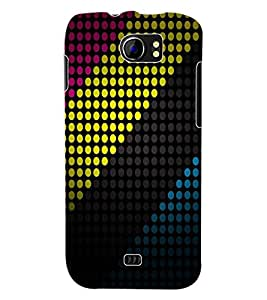 ColourCraft Colour Pattern Back Case Cover for MICROMAX CANVAS 2 A110
