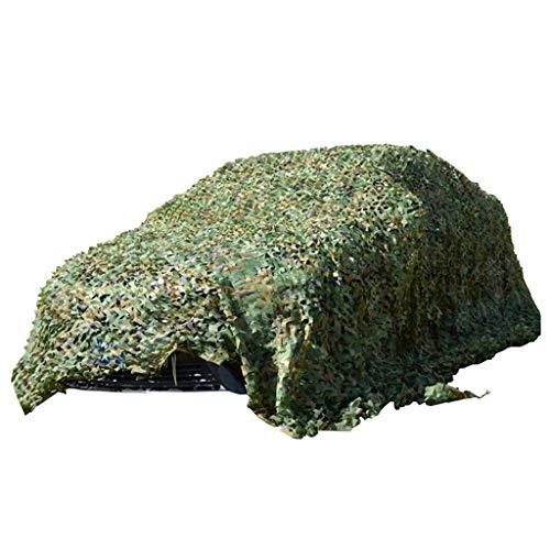 Outdoor Dschungel Tarnnetz UV-beständige Schatten für Wald Jagd Camping Motto Party Dekoration, Auto Abdeckzelt,10 M × 10 M ()