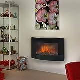Eurom Fireplace Valencia 36.323.4 Elektrisches Kaminfeuer 2000 Watt Elektrisches Kaminfeuer
