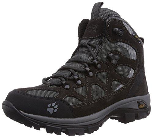 Jack Wolfskin ALL TERRAIN TEXAPORE WOMEN, Damen Trekking- & Wanderstiefel, Schwarz (shadow black 6101), 37.5 EU (4.5 Damen UK)