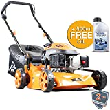 P1PE P4100P 99cc 4-Stroke Petrol Lawnmower Hyundai Powered 41cm / 16inch Cutting Width
