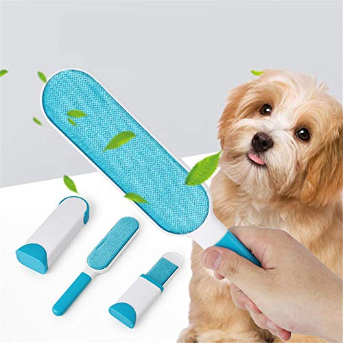 Allowevt Haustier Haarentferner Hund & Katze Haarentferner Pinsel Wiederverwendbarer Reiniger Entfernen Sie Haare von Möbeln, Teppichen, Bettwäsche und mehr Best Service -