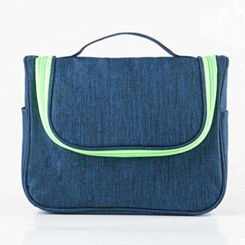 kaxima portátil bolsa de cosméticos bolsa de cosméticos paquete de viaje neceser de viaje bolsa de maquillaje de gran capacidad mujeres impermeable 19* 24* 10cm H