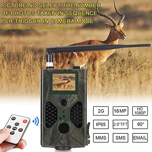 CVB Mobile Hinterkamera Für Die Zelluläre Wildjagd 16MP Photo Traps 1080P Night Vision Wireless Wildlife Cameras Zellulare Systeme