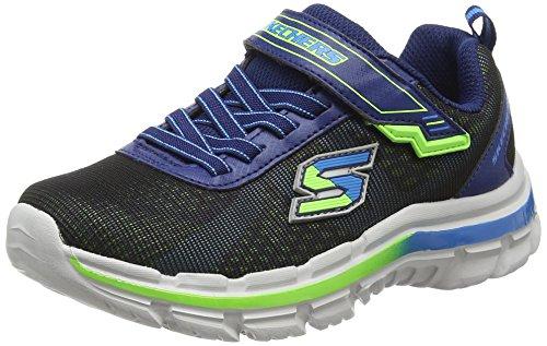 Skechers Nitrate - Brio, Chaussures de sport garçon Azul (Nvbl)