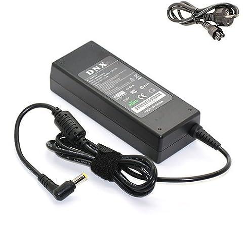Livraison Gratuite / Chargeur, Transfo, Alimentation, Adaptateur secteur compatible pour Packard Bell EasyNote TH, 19V 4.74A 90W, NEUF, NOTE-X / DNX
