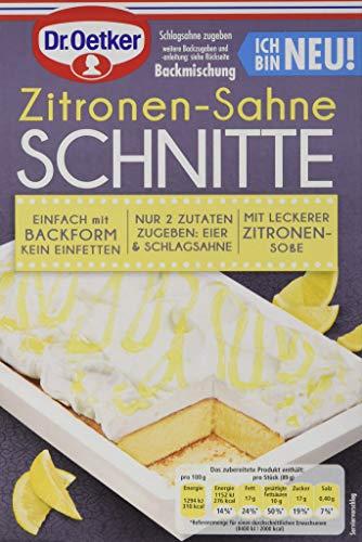 Dr. Oetker Zitronen-Sahne Schnitte, 243 g