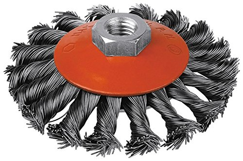 Brosse cuvette acier torsadé SCID - Diamètre 115 mm