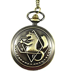 MapofBeauty Bronze of alloy Alchemist aidehua?¡¤aili g pocket watch