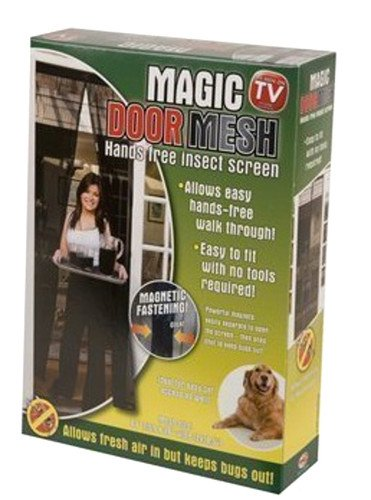 magic-curtain-door-mesh-magnetic-fastening-hands-free-fly-bug-insect-screen-black