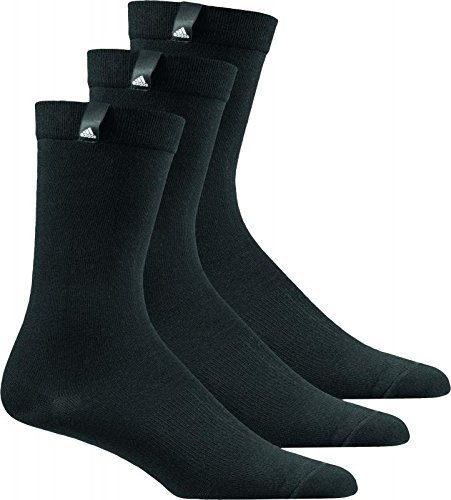 adidas Performance Label Crew Thin Socks 3 Pairs