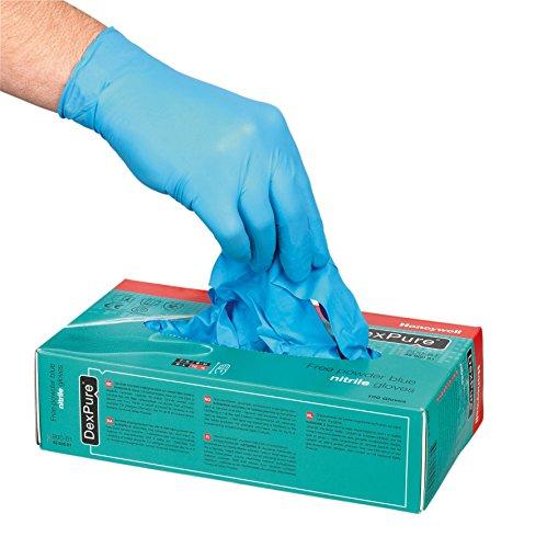 07Perfekte Passform Handschuh dexpure 801–95, Größe 7(1Karton mit 50Stück) (Karton-cut Outs)
