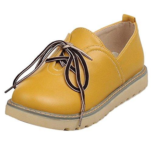 Chaussures Mode Coolcept Skateboard yellow Femmes AqxBOwx6