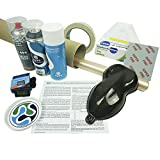Komplettset Wassertransferdruck Gold / Karbon, Aktivator, 400 ml, Water Transfer Printing, Hydrografie