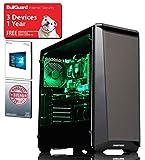 ADMI GAMING PC: AMD FX-8300 8 Core 4.2GHz CPU, GTX 1050 Ti 4GB Graphics Card, 8GB 1600MHz RAM, Seagate 2TB, Phanteks P400S, WiFi, Windows 10