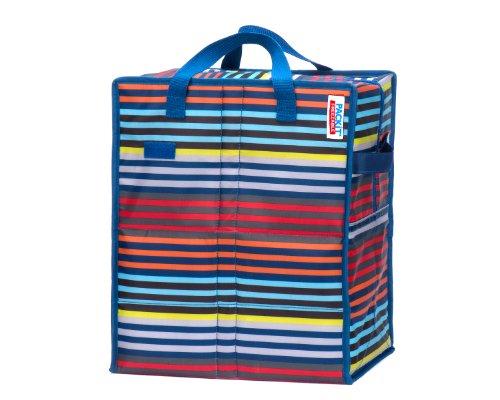 Pack it PKT-SH-Cal Mini-Kühltasche, gestreift, 18,8l Freezable Gel