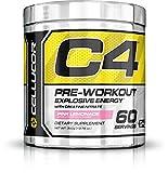 Cellucor C4 - Poudre pré-entraînement à la créatine - goût limonade/fruits rouges - 60 portions