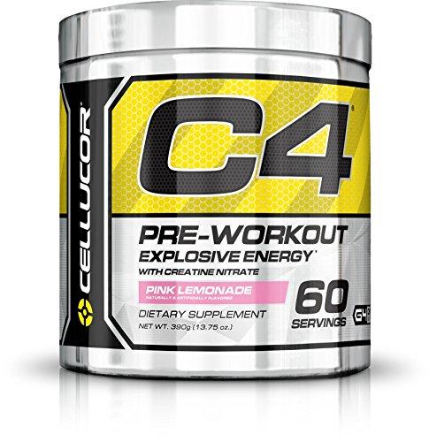 Cellucor - C4 G4 - Suplemento de preentrenamiento en polvo - Con creatina - Limonada rosa - 60 raciones