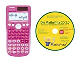 Casio FX-85 GT Plus PINK Paket 2(+CD)
