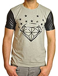 T-shirt Gov Denim Diamants