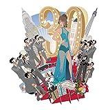 3D Pop-Up Grußkarte zum 30. Geburtstag, Top of The World
