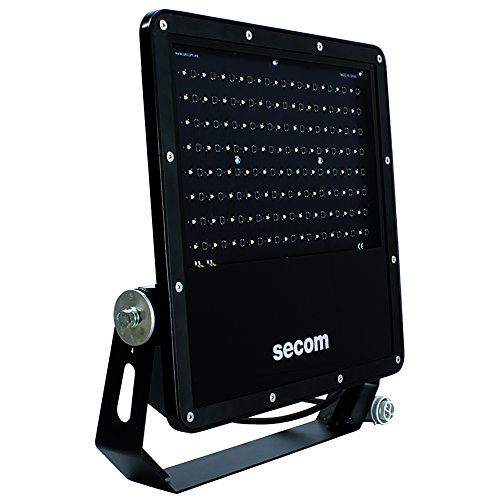 Secom Protek Q2 Proyector Industrial LED, 200 W, Negro