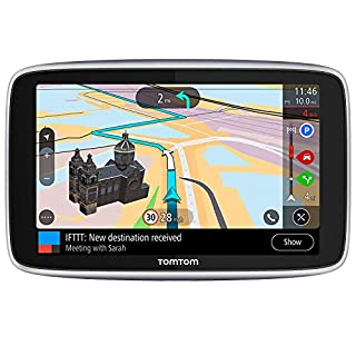 TomTom Car Sat Nav GO Premium 5 Inch with Updates via WiFi, Lifetime Traffic and Speedcam Warnings via SIM Card, World Maps, Last Mile Navigation and IFTTT (B07NC3W4HC) | Amazon Products