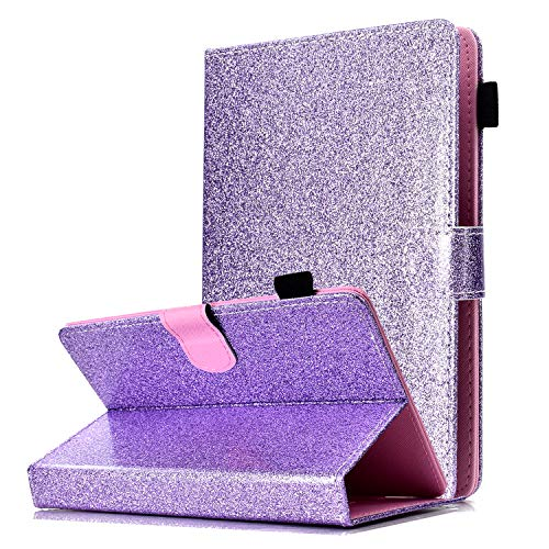 custodia tablet asus 7 pollici HereMore Cover Glitter per Tablet 7""