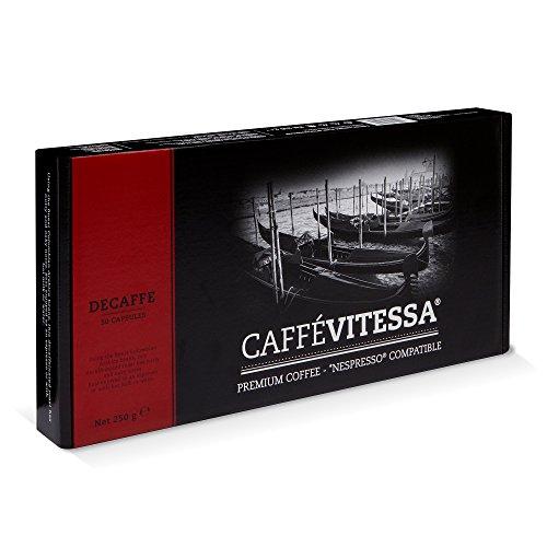 Caffe Vitessa Nespresso Compatible Decaffeinated Coffee  -> Nespresso Decaf
