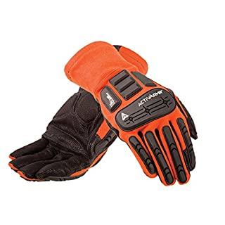 Ansell ActivArmr 97-200 Special purpose gloves, mechanical protection, Black, Size 11 (Pack of 9 pairs)