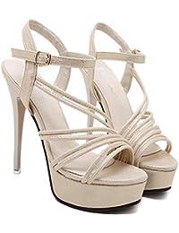 8f96c837da3 ZQ Zapatos de mujerTac¨®n RobustoTacones   Plataforma   Punta ...