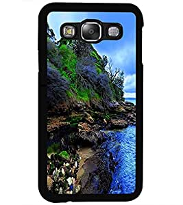 ColourCraft Nature Design Back Case Cover for SAMSUNG GALAXY E5