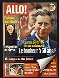 ALLO [No 9] du 11/11/1998 - L'ADIEU A JEAN MARAIS - LES PHOTOS DE SA VIE - LE PRINCE CHARLES FETE SON ANNIVERSAIRE - JOHNNY HALLYDAY ET SYLVIE VARTAN - LE COUPLE LEGENDAIRE DES SIXTIES - MURIEL HERMINE DANS LA MER ROUGE - CHRISTINE DEVIERS-JONCOUR SE REFUGIE EN DORDOGNE