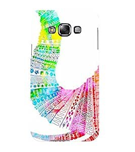 Mental Mind 3D Printed Plastic Back Cover For Samsung Galaxy E5- 3DSAME5-G1483