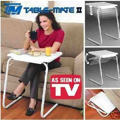 Table Mate 2 Multipurpose Folding TV Tray Laptop Table ** UK SELLER**...