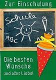 Depesche Glückwunschkarte Schulanfang Karte Zur Einschulung Grußkarte grün Schultafel