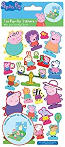 Papel Proyectos 01.70.27.002 Peppa Pig Pop-up Pegatinas