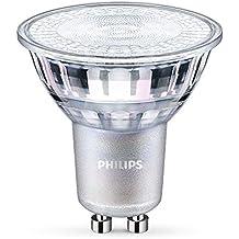 Philips Foco Regulable - Bombilla LED  GU10, 80, equivalente a 60 W, 1200, color blanco cálido
