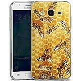 Samsung Galaxy J5 (2015) Slim Case Silikon Hülle Schutzhülle Bienen Biene Insekten