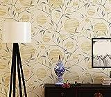 Longless Wallpaper, Chinois, non-tissés, la protection de l'environnement, papier peint, salle de séjour, chambre à coucher, télévision, toile, papier peint, 10*0.53M