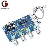 Lepakshi Ne5532 Stereo Pre-Amp Preamplifier Tone Board 12-24V Ac Amplifier Board
