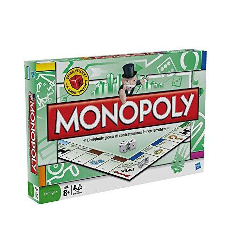 Hasbro Monopoly Immobilienhandel-Spiel (Version 2007)