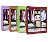 #8: Ezzideals 3 Layer Storage Shelf Rack Wardrobe Fancy N Foldable (Multi Color)