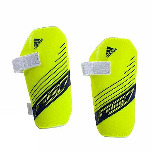 Adidas F50 Lite, Schienbeinschützerschalen, gelb/blau, Gr. M - M