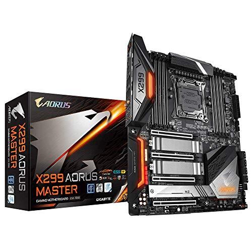 GIGABYTE X299 AORUS Master (Intel LGA 2066/E-ATX/3xM2/Dual Intel LAN/ESS Sabre 9218 DAC/USB 3.1 Gen 2 Type-C Motherboards)